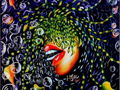 Bezoká vize- Autoportrét 1- Alergik