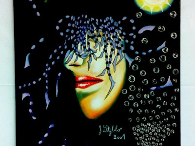 Bezoká vize- Autoportrét 2- Číšník 